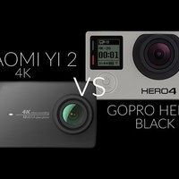 GoPro verő? - Xiaomi Yi 2 4K vs. Hero4 Black