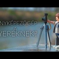 Fényképezőgép a gyereknek?