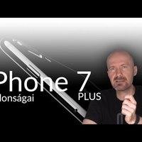 iPhone 7 és 7 Plus újdonságok