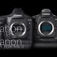 Canon EOS 1DX vs. Canon EOS 1DX Mk II
