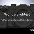 Meglep minket a Sony egy apró fullframe MILC-el?