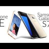 iPhone SE vs Samsung Galaxy S7 (Edge) - kamera adatlap összevetés