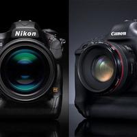 Canon EOS 1Dx Mk II vs. Nikon D5