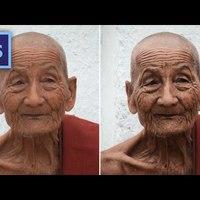 Photoshop tippek (#126.) - Erős arckontraszt (#tutorial)