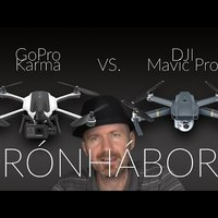 GoPro Karma vs. DJI Mavic Pro (magyar kommentárral)