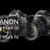 Canon EOS 5D Mark IV vs. EOS 5D Mark III összehasonlítás