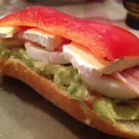 """Avokádókrémes szendvics """"másnapra"""""""