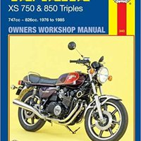 _PORTABLE_ Yamaha XS750 And 850 Triples, 747cc-826cc, 1976 To 1985 (Owners' Workshop Manual) (Haynes Repair Manuals). glass hours EGBANK todos equipo Medical poniendo