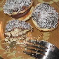 Csokis-kókuszos süti
