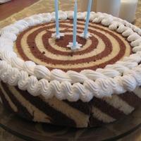 Túrós erdeigyümölcsös torta