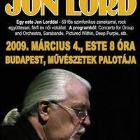 Jon Lord koncert, 2009. március 4.; Bp., Művészetek Palotája