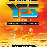 Yes feat. Anderson, Rabin, Wakeman: Live At The Apollo DVD (2018)