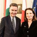 Pazar osztrák nagyköveti fogadás Habsburg módra