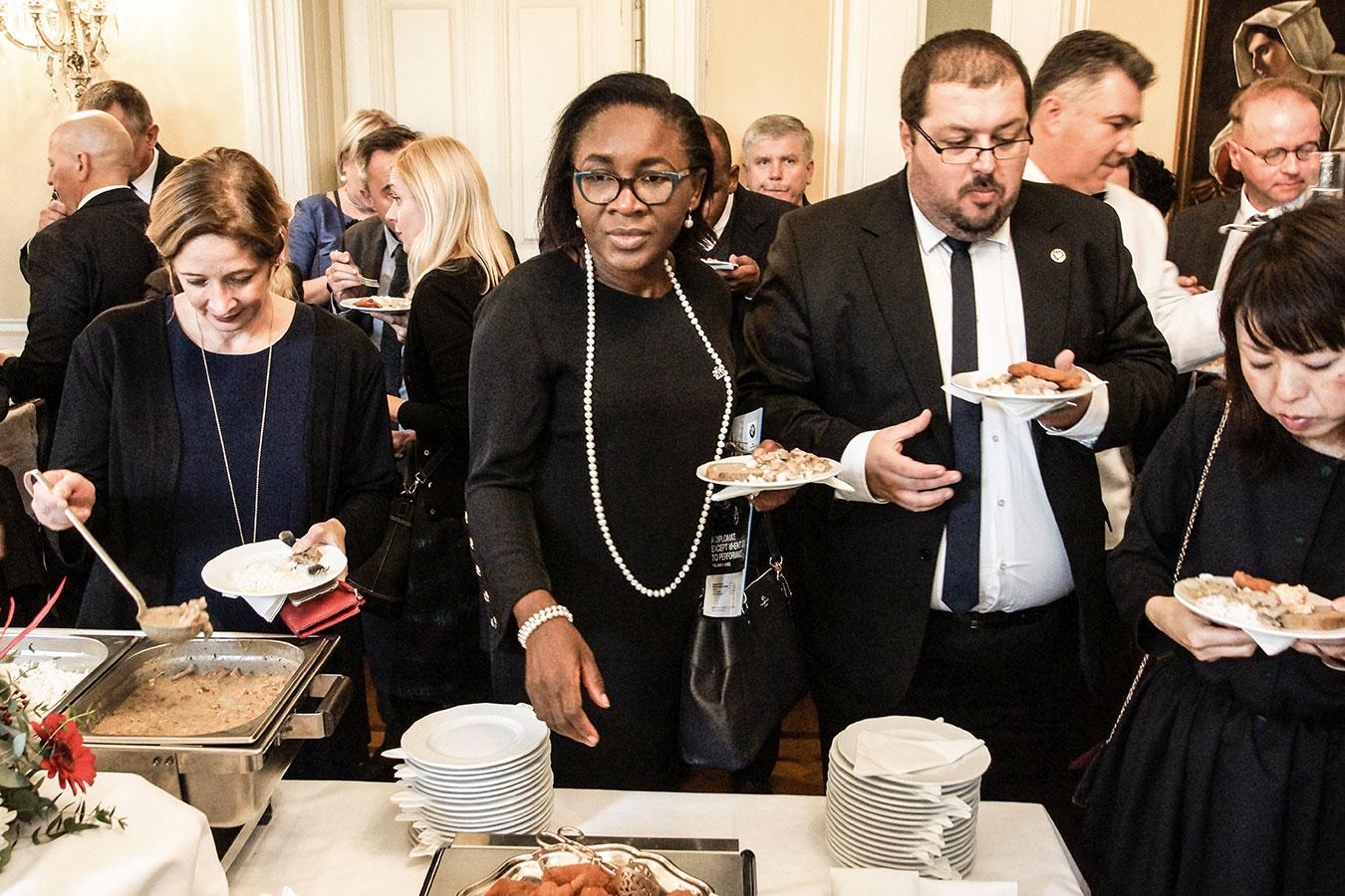 Eniola Olaitan Ajayi, Nigéria nagykövete<br /><br />(Fotó: Aigner Ivan)
