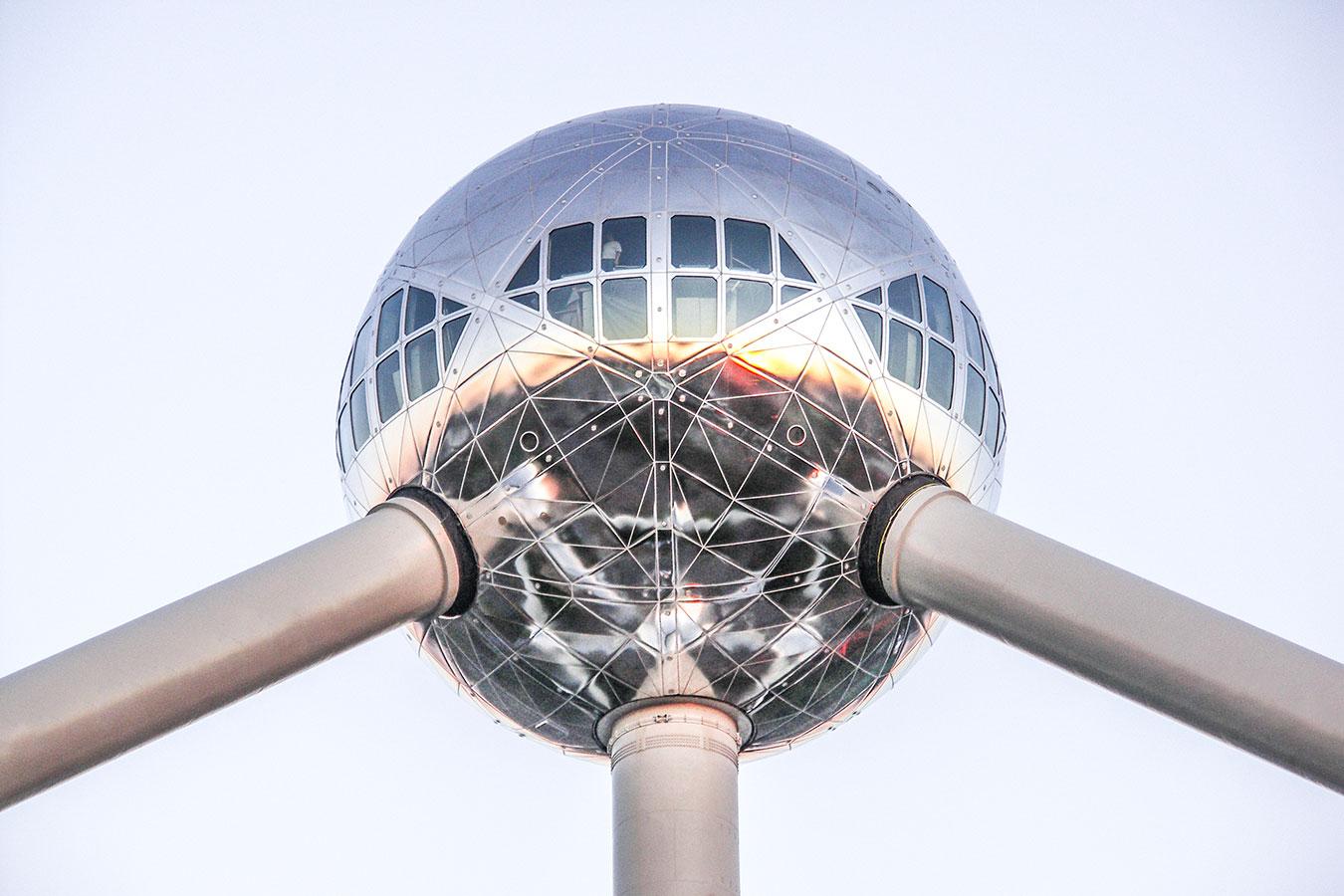 Brüsszel / Atomium<br /><br />Fotó: Aigner Ivan