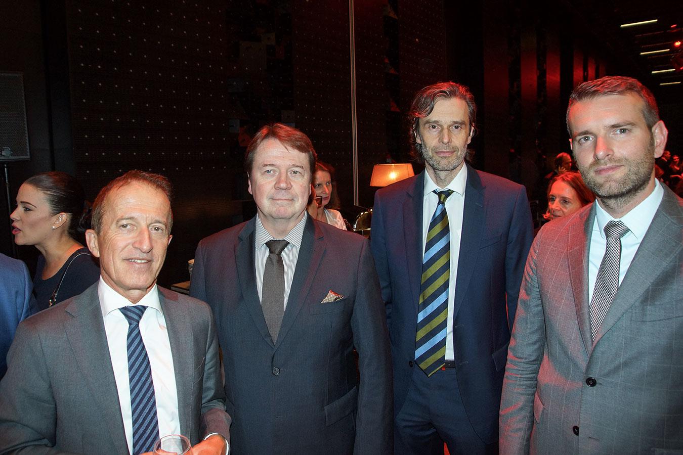 A svájci, finn és belga nagykövet<br />(Fotó: Aigner Ivan)