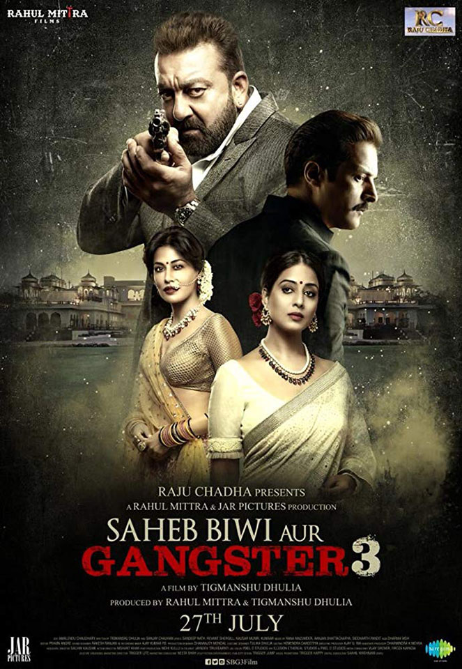 Az úr, a feleség és a gengszter 3 (Saheb Biwi Aur Gangster 3)<br />Bemutató: 2018.10.06. | 19.00 | Puskin Mozi