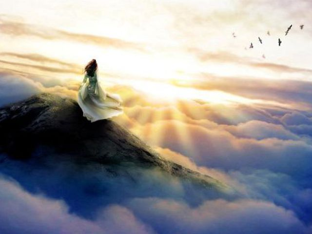Titokzatos világ a felhők között
