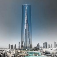 Becsomagolják a világ legmagasabb épületét
