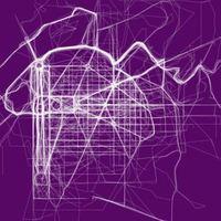 Művészi térképek a világ nagyvárosainak kedvenc futóhelyeiről