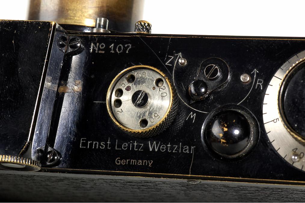 Az egyetlen null-szériás Leica Germany felirattal.