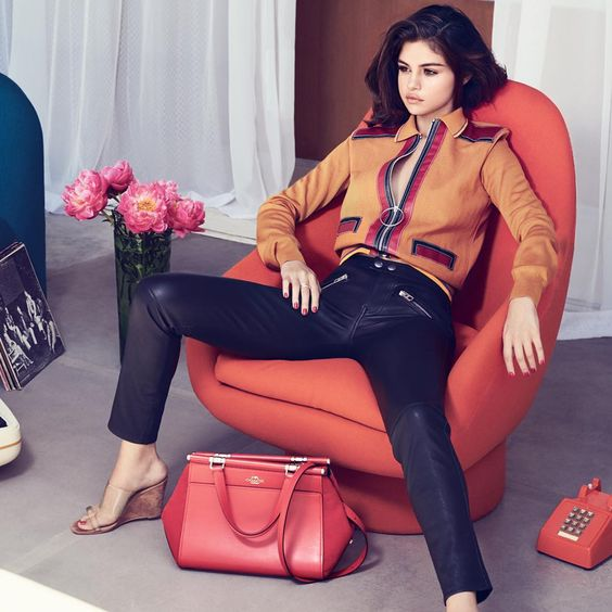 Coach X Selena Gomez, forrás: Pinterest