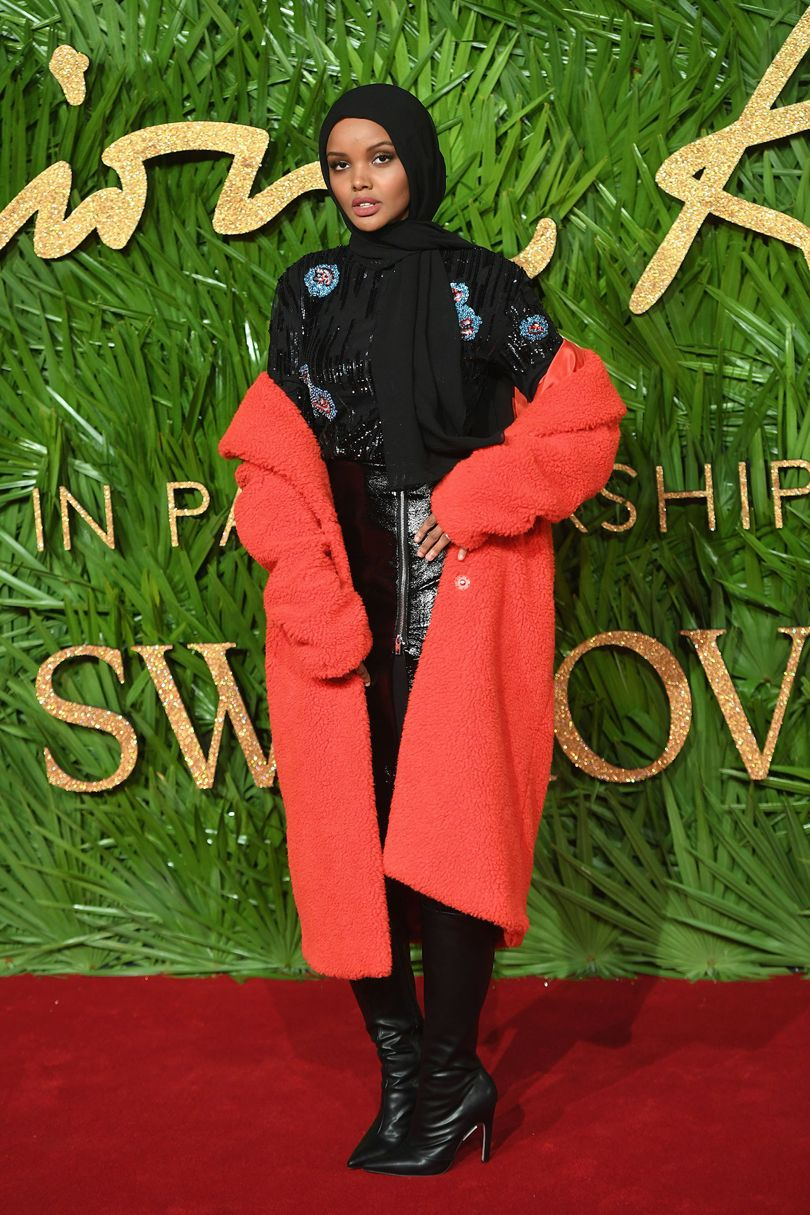 Halima Aden, forrás: Vogue UK