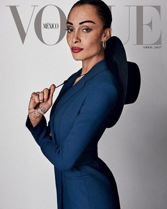 Adwoa Aboah<br />Forrás: Vogue