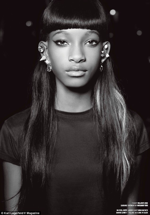 Willow Smith<br />forrás: dailymail.co.uk