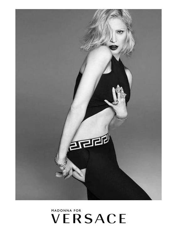Madonna is volt a kampány arca, forrás: modelandfashionista.wordpress.com
