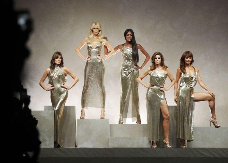 A Szupermodellek, forrás: Harper's bazaar