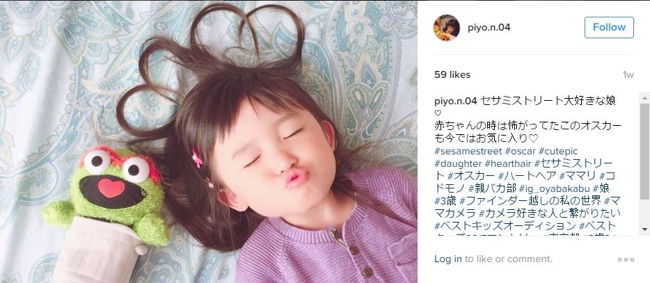 Kendall Jenner híres képének adaptációja, forrás: piyo.n.04 Instagram