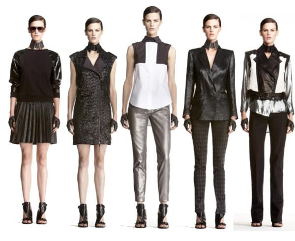 A Karl Lagerfeld for H&M kollekció néhány darabja<br />Forrás: Pinterest