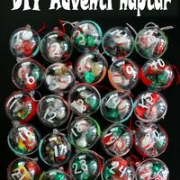 DIY Adventi kalendárium