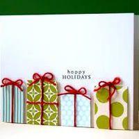 Karácsonyi üdvözlőlapok és ajándékkísérők