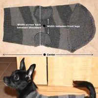 Kutyaruha pulóverből