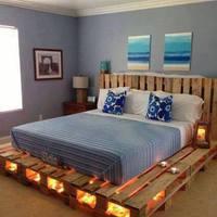 Raklap bútorok - Ágyak