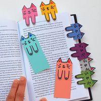 Könyvjelzők DIY - papírból, dekorgumiból