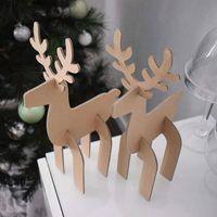 Karácsonyi dekoráció kartonból