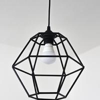 Geometrikus lámpa saját kezűleg