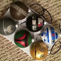 Karácsonyi Star Wars díszek