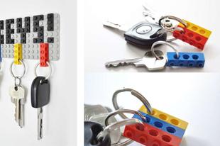 Kulcstartó LEGO elemekből