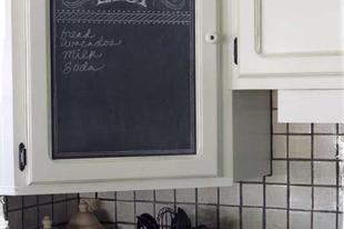 Üzenet a konyhaszekrényen