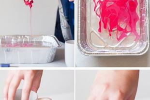 Egyedi csésze készítése egy kis körömlakkal