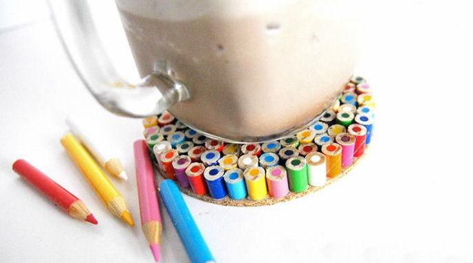 ceruza poháralátét
