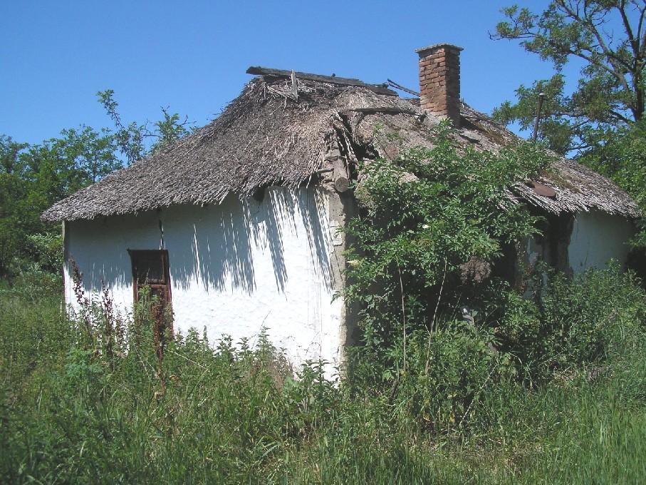 elhagyatott ház Nagyecséren