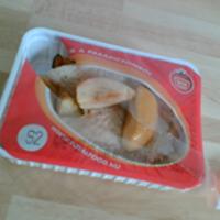 Almával sütött pulykamell héjában sült burgonyával (TotalFood)