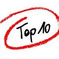 2017 TOP 10 Lemeze
