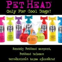 PetHead samponok ajándék balzsam termékmintákkal