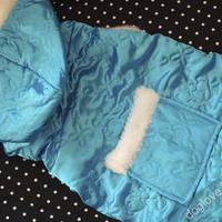 Termékbemutató - Kék meleg kutyaoverall